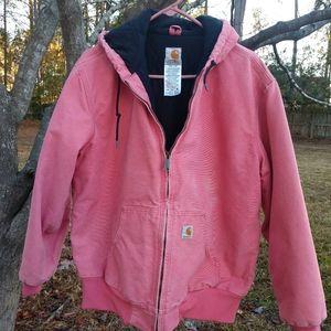 Ladies Carhartt jacket with hood